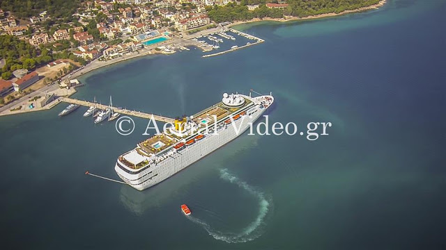 photography Aerial kefalonia