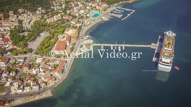 photography kefalonia aerial