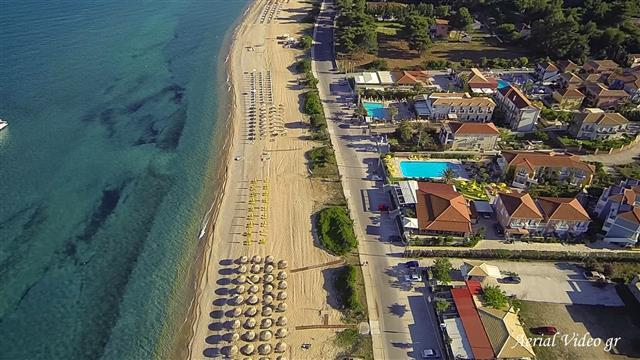 skala kefalonia aerial photo