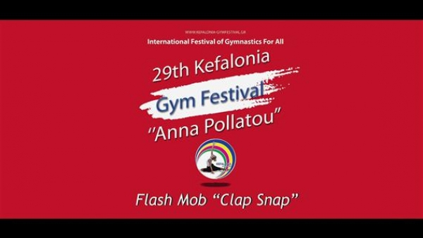 Kefalonia Gym Festival Anna Pollatou 2017 Flash-Mob