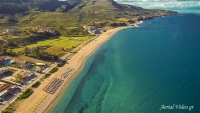 Aerial photography in Skala Kefalonias Greece