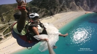 Video After Wedding Paraglide