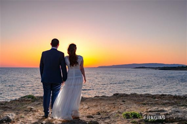 Wedding of Gerasimos and Mary in Kefalonia island